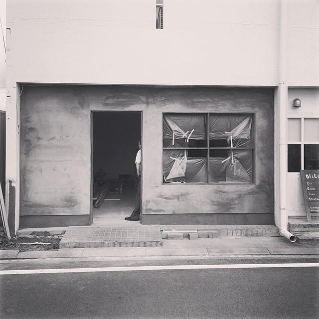 店舗の内装工事は着実に進んでいます。#sandkhousehold #静岡 #清水 #雑貨屋