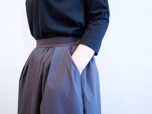 tsuki.s-細番手ストレッチスカート-1