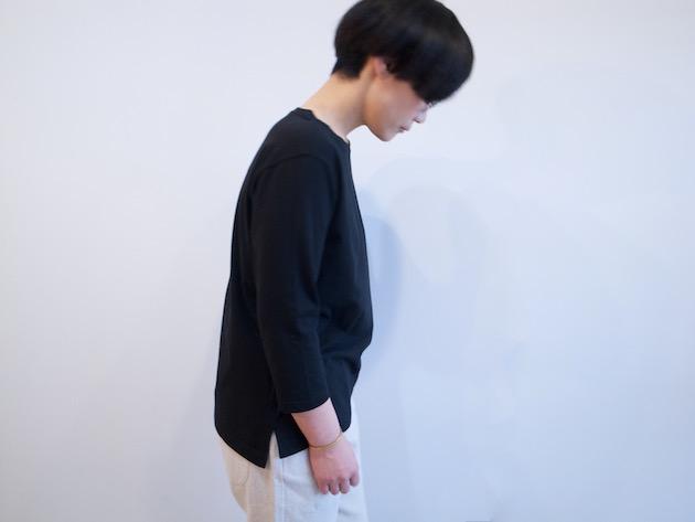 tsuki.s-度詰め天竺七分袖Tシャツ-9