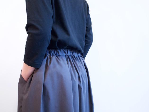tsuki.s-細番手ストレッチスカート-7