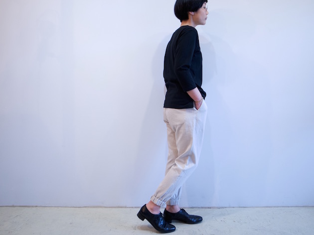 tsuki.s-度詰め天竺七分袖Tシャツ-7