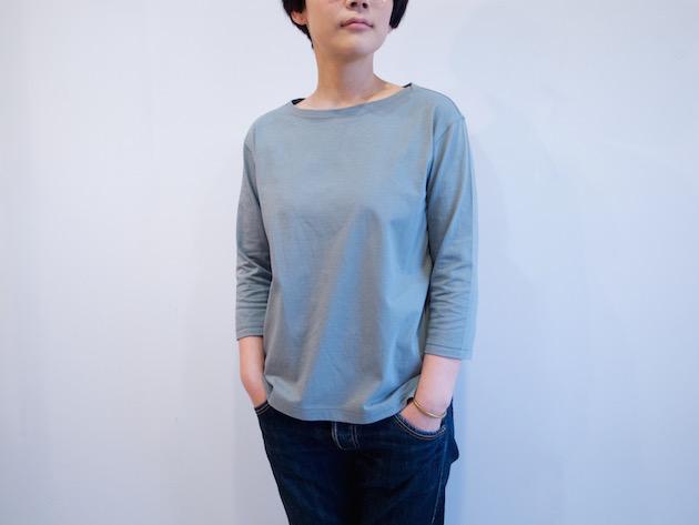 tsuki.s-度詰め天竺七分袖Tシャツ-4